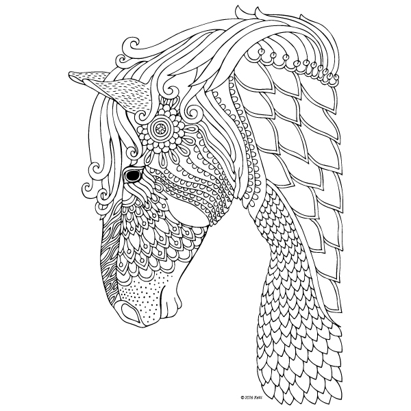 Free Colouring Pages Coloring for Adults omalov nky k